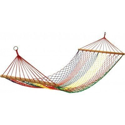 Картинка Гамак KingCamp Parachute Hammock KG3713 Yellow/Green   раздел Гамаки